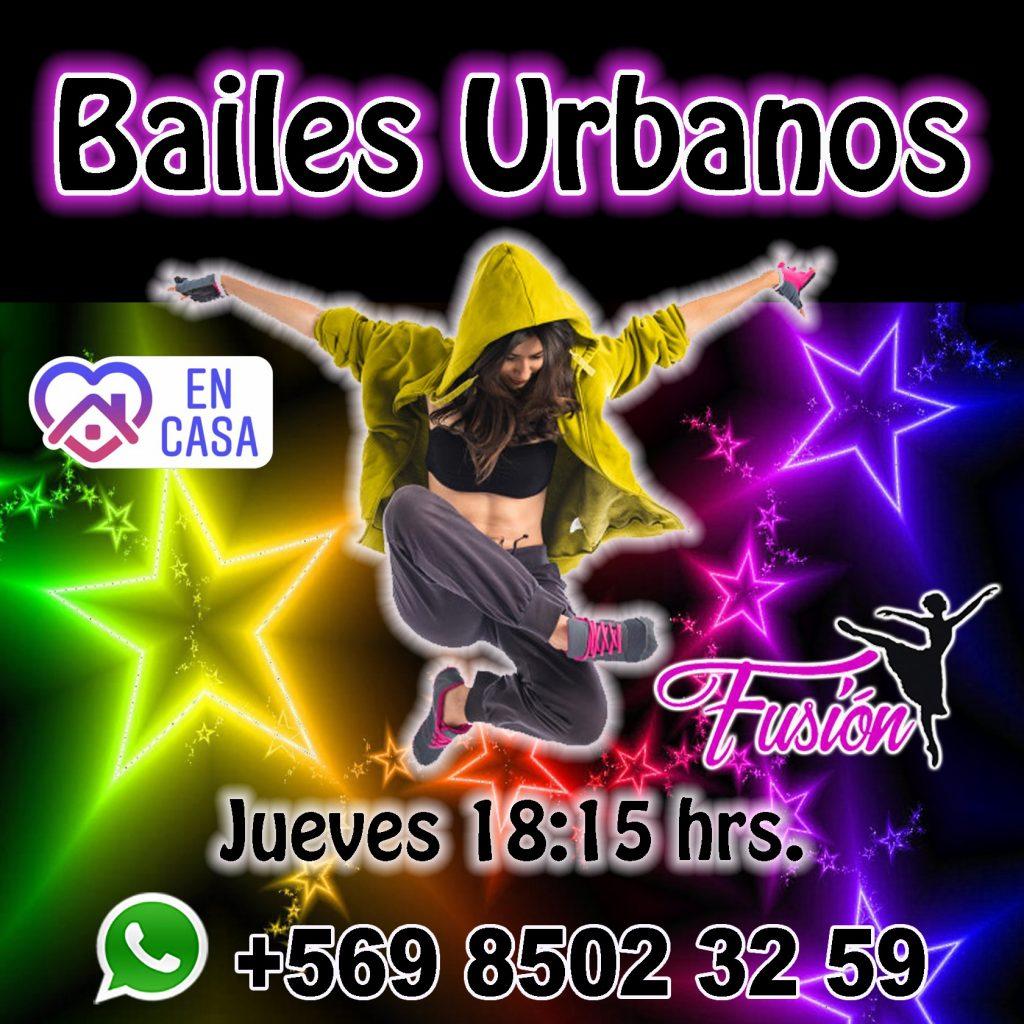 bailes urbanos on line